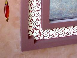 Трафареты для декора стен и интерьера