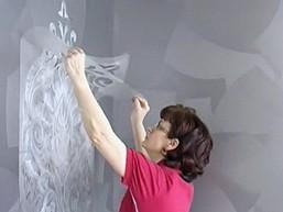 Трафарет для стен