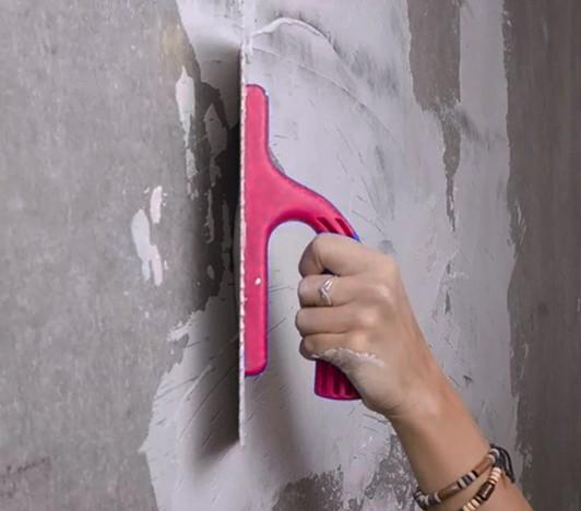 Как использовать трафарет для стен и объектов