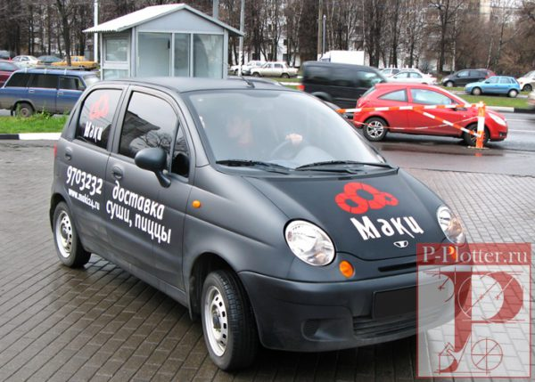 Брендирование корпоративного транспорта компания Маки24.Ру