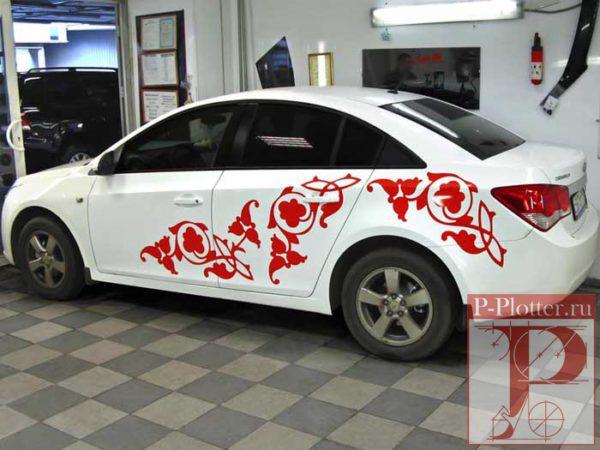 Bosco брендирование корпоративного автомобиля