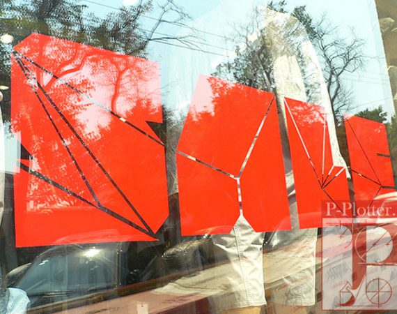 Наклейки sale на стеклянные витрины