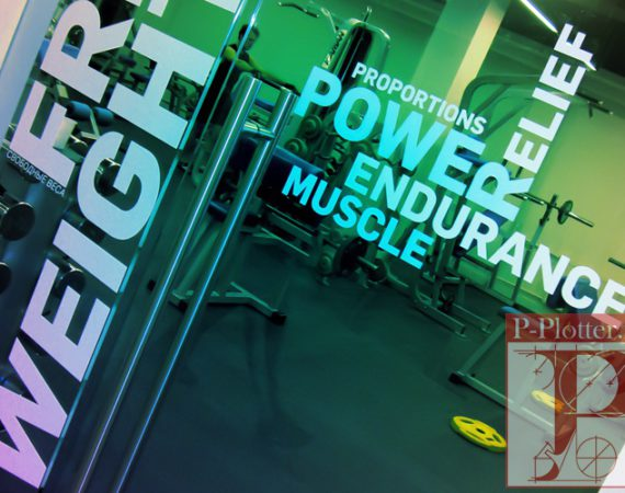 Multisport брендирование стеклянных перегородок и дверей